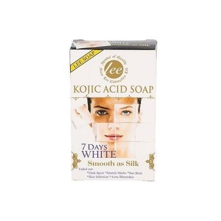 Lee Kojic Acid Soap, 7 Days White - 160 gm