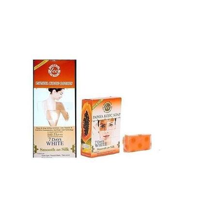 Lee Papaya Kojic Acid Lotion + Lee Papaya Kojic Acid Soap