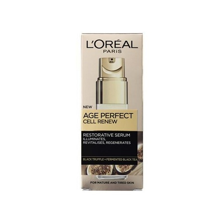 LOreal Paris Age Perfect Cell Renew Restorative Serum- Mature Dull Skin