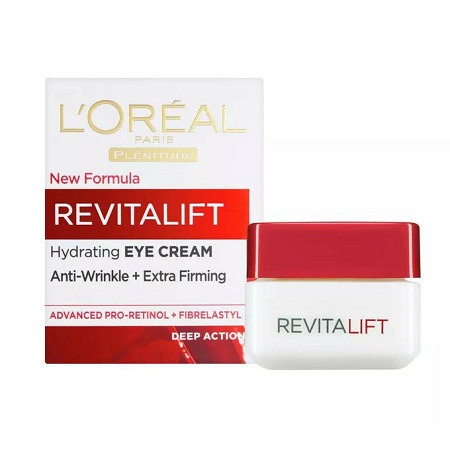 LOreal Paris Revitalift Hydrating EYE CREAM, Anti-wrinkle+extra Firming