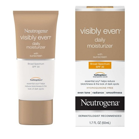 Neutrogena Visibly Even Daily Moisturizer, Sunscreen SPF 30 - 50ml