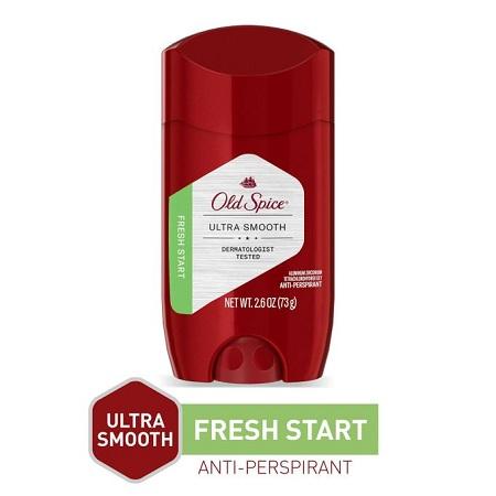 Old Spice Ultra Smooth Anti-Perspirant, 48HR Fresh Start