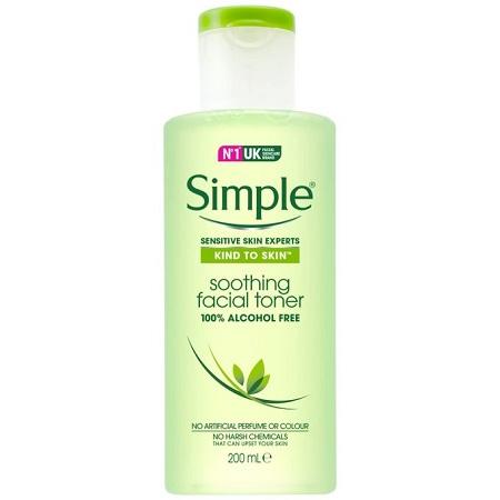 Simple Sensitive Skin Expert, Kind Soothing Toner