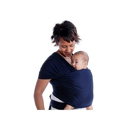 Baby Wrap Carrier - Navy blue