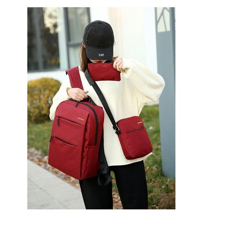 Antitheft Bags 3 IN 1 -red plus Free USB charger