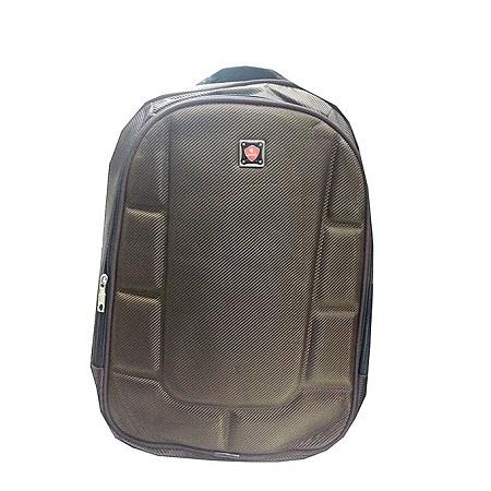 Unisex Laptop Backpack Travel College Shoulder Bag - Brown
