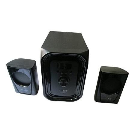 Vitron V010 Subwoofer-2.1 CH Multimedia Speaker System- PMPO-2000