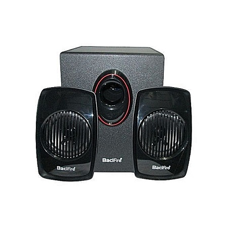 Bacifire Super Multimedia 2.1 Speaker Bf-600 - Black