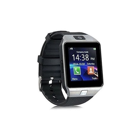 DZ09 Smart Watch Silver with Sim Card and Memory Card Slot