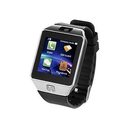 DZ09 Smart Watch Phone for Android and Apple - Silver Black