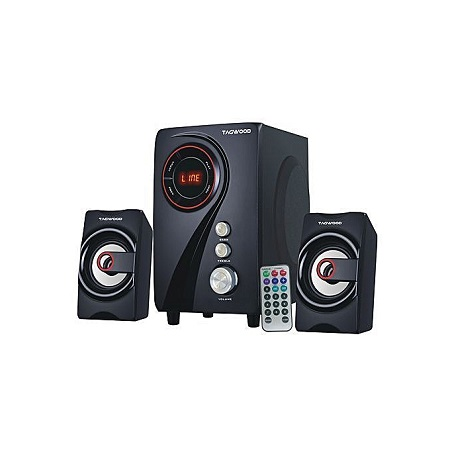 TAGWOOD MP-55 Multimedia Speaker System with Bluetooth - Black.