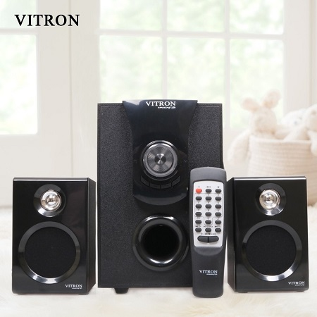 VITRON Sound System 2.1 Multimedia Bluetooth Speaker Black