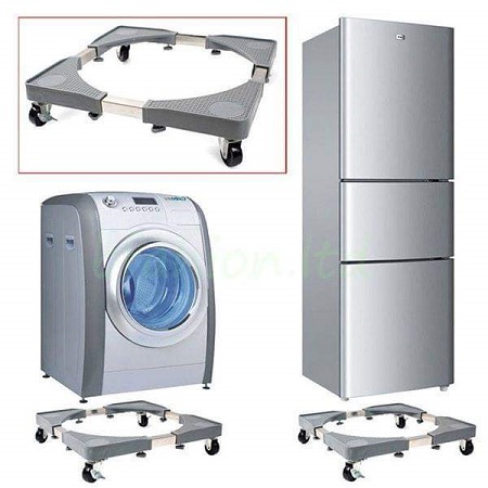 HEAVY APPLIANCE Wheels Mobility Roller Trolley Washing Machine Stand Fridge Base