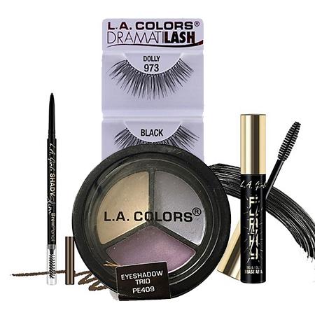L.A. Colors + L.A. GIRL Eye Combo