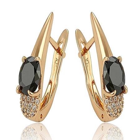 CarJay Jewels Gold Coated Earring hoops
