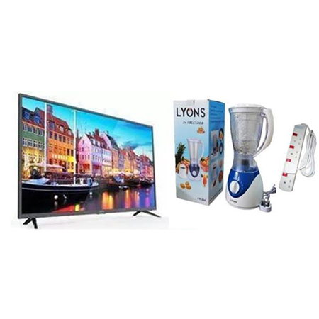 Vitron 32 Inch Smart Tv + 2 in 1 Lyons Blender + Extension