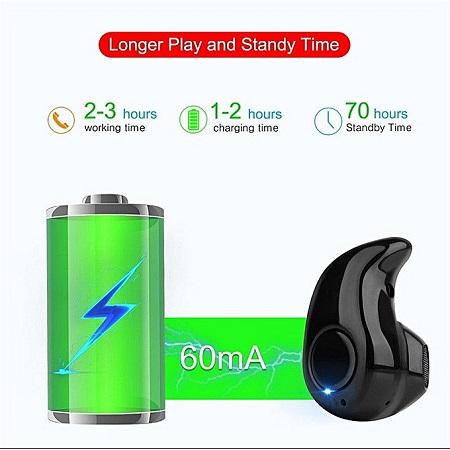Mini Wireless Bluetooth Earphone in ear S530 Hands free