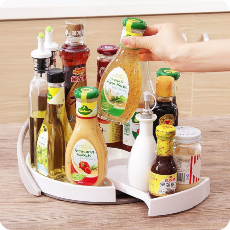 Oil salt and spice tray organizer