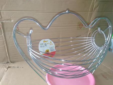 Suspended stainless steel Fruit basket