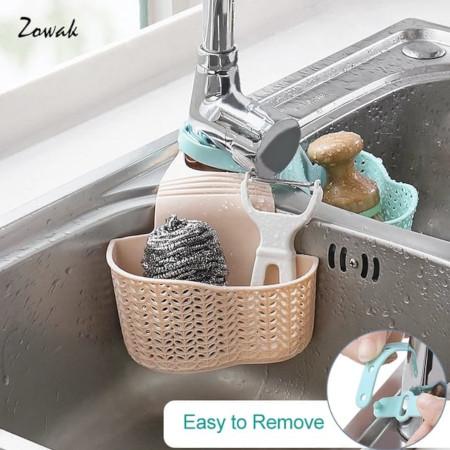 Plastic sink orgniser basket