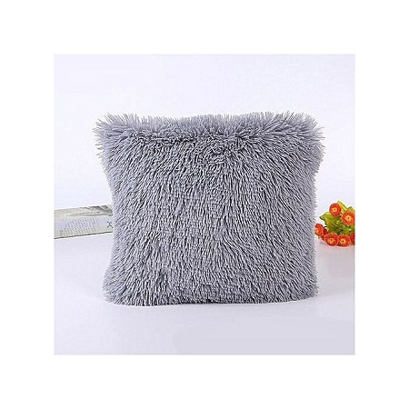 Decorative Fluffy Plush Throw Pillow Case Cushion Covers