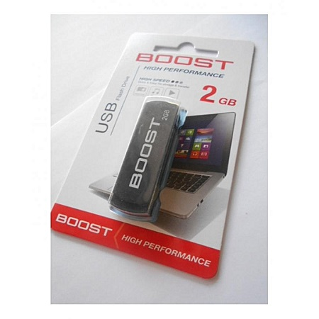 Boost Flash Disk - 2GB - Black