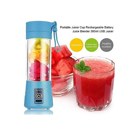 Portable Juicer Cup Rechargeable Battery Juice Blender USB Juicer