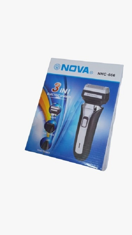 NOVA NHC 666 3 in 1 Electric Shaver