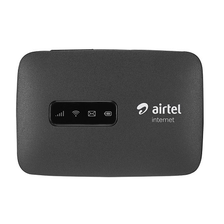 Airtel 4G Portable Pocket MiFi WiFi Modem + 15GB FREE Data – Black