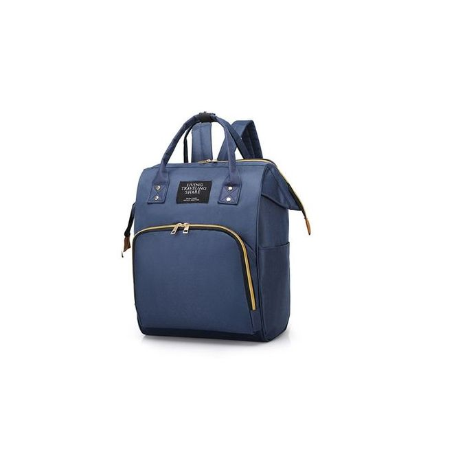 Fashion Backpack Mummy Diaper Nappy Bag - Blue