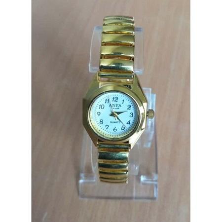 Unique Golden Women Quartz Wristwatch