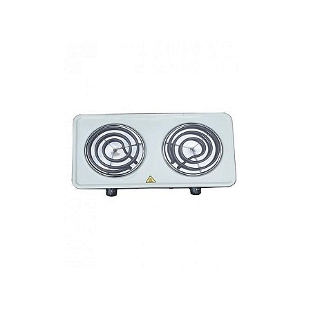 Generic Electric Double Hot Plate - White