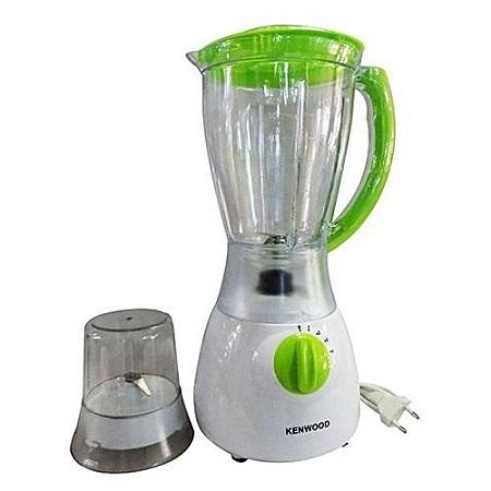 KENWOOD Electric Blender with Grinder - 1.5 L - White & Light Green