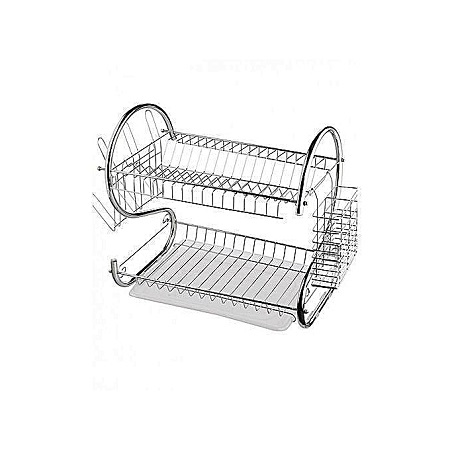 Dish Rack -Silver