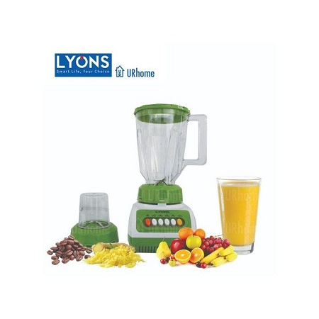 Lyons FY-999, 2 in 1 Blender with Grinding Machine - 1.5L - White & Green
