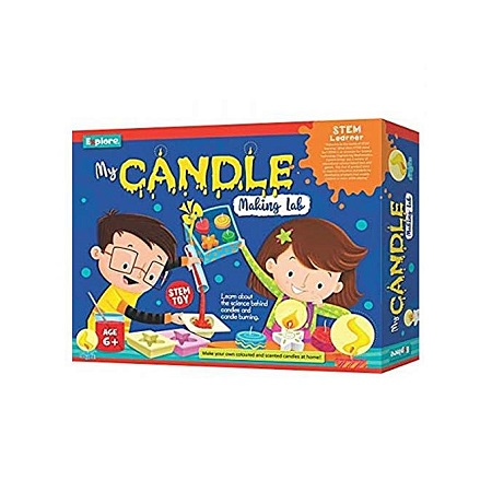 My Candle Making Lab Learning Kit