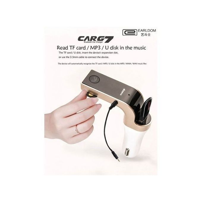 Car G7 Car Modulator Bluetooth Charger Mp3 Player