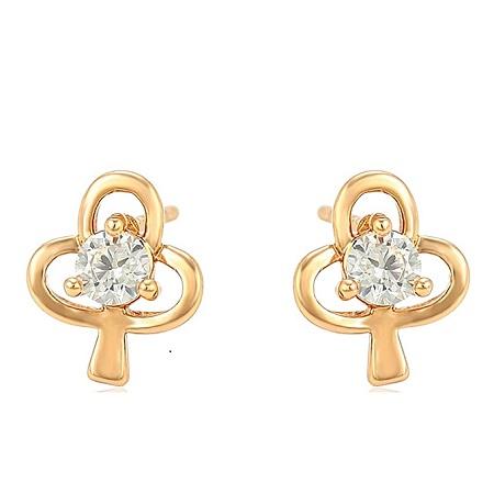 CarJay Jewels Gold Earring Studs