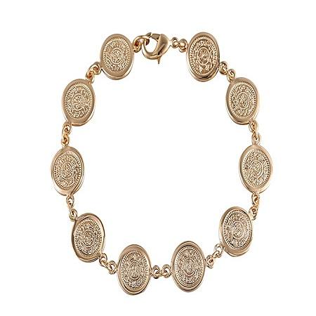 CarJay Jewels Gold Coated Stylish Bracelet