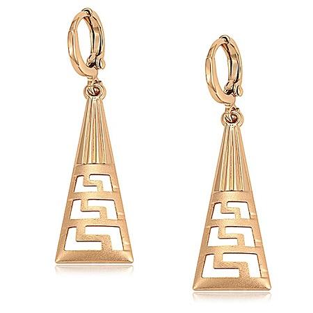 CarJay Jewels Gold Coated Earrings Eardrops