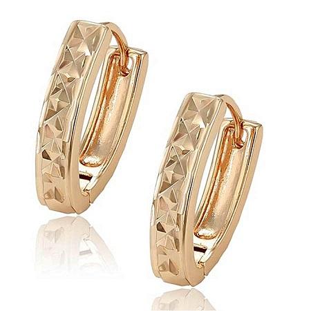 CarJay Jewels Gold Earring Hoops