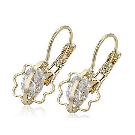 CarJay Jewels Gold Coated Earring Hoops.