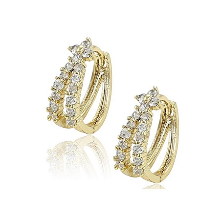 CarJay Jewels Gold Coated Earring Loops