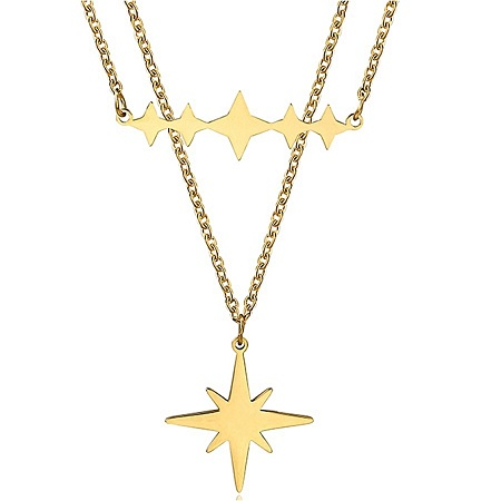 CarJay Jewels Gold Coated Stylish Necklace