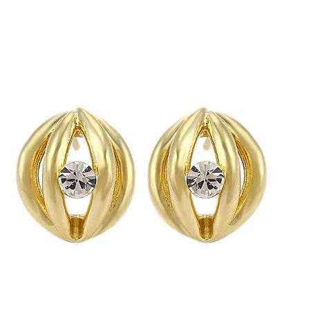 CarJay Jewels 18k Gold Coated Earring Studs