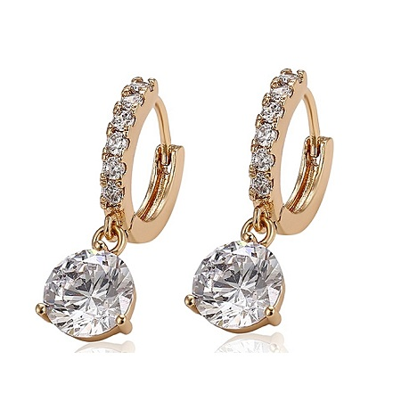 CarJay Jewels 24k Gold Coated Earring
