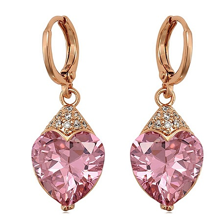 CarJay Jewels Gold Coated Earrings Eardrops