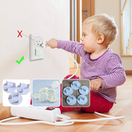 Child Baby Socket Cover 6Pcs