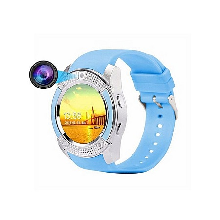 S006 Bluetooth Smart Watch Phone, Smart Watch With Camera Fitness Tracker SD Card SIM Card
