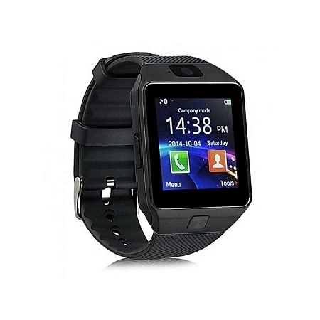 Smart Watch Smart DZ09 Smart Watch Phone for Android and Apple - Black